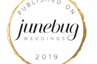 Featured On Junebug Weddings 2019